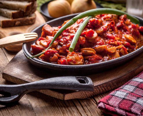 saucisse-sauce-tomate-piquante